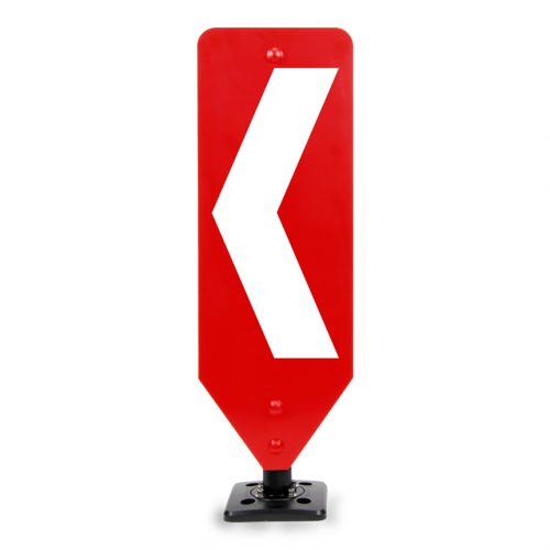 Chevron Left traffic bollard