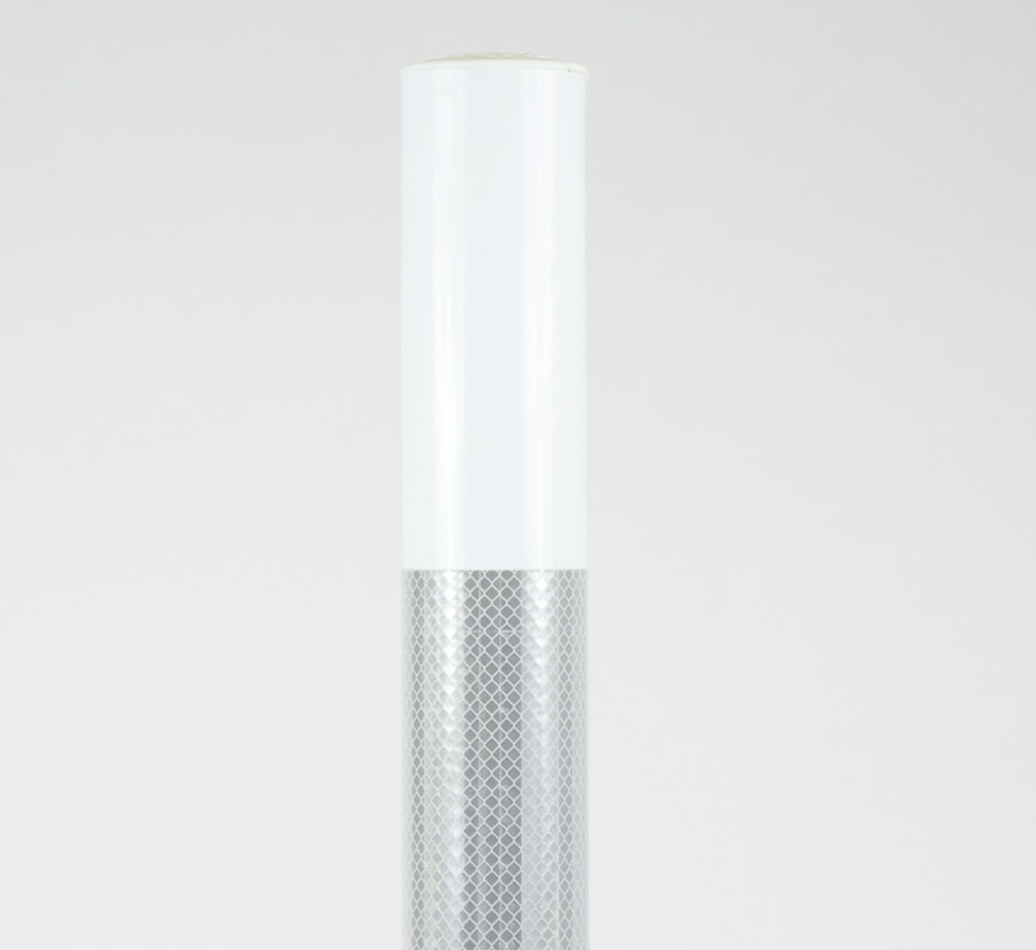 White City Post lane separator Reflective by TMP Solutions