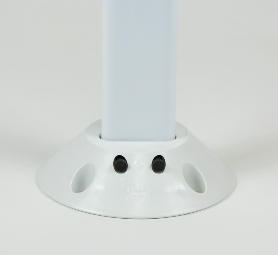White FG300 Marker Post Form TMP Solutions Base