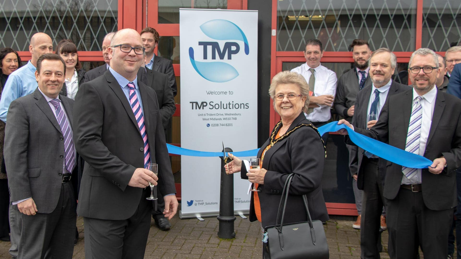 TMP Solutions Grand Opening Wednesbury