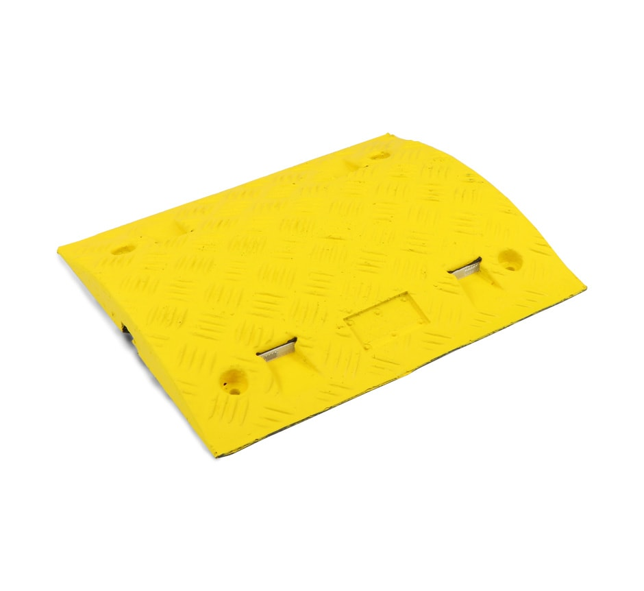 Yellow speed bump section