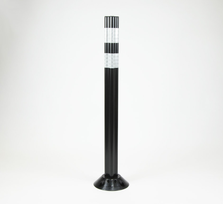 TMP Solutions Black FG300 Marker Post for cycle lanes