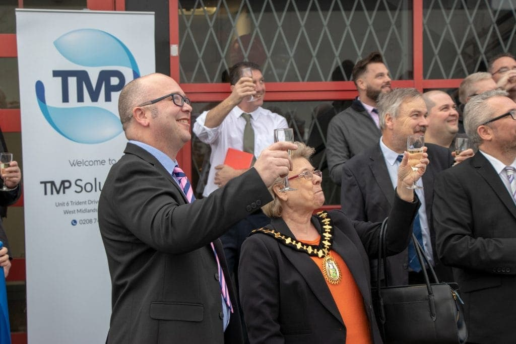 Raise a glass to TMP Solutions Wednesbury