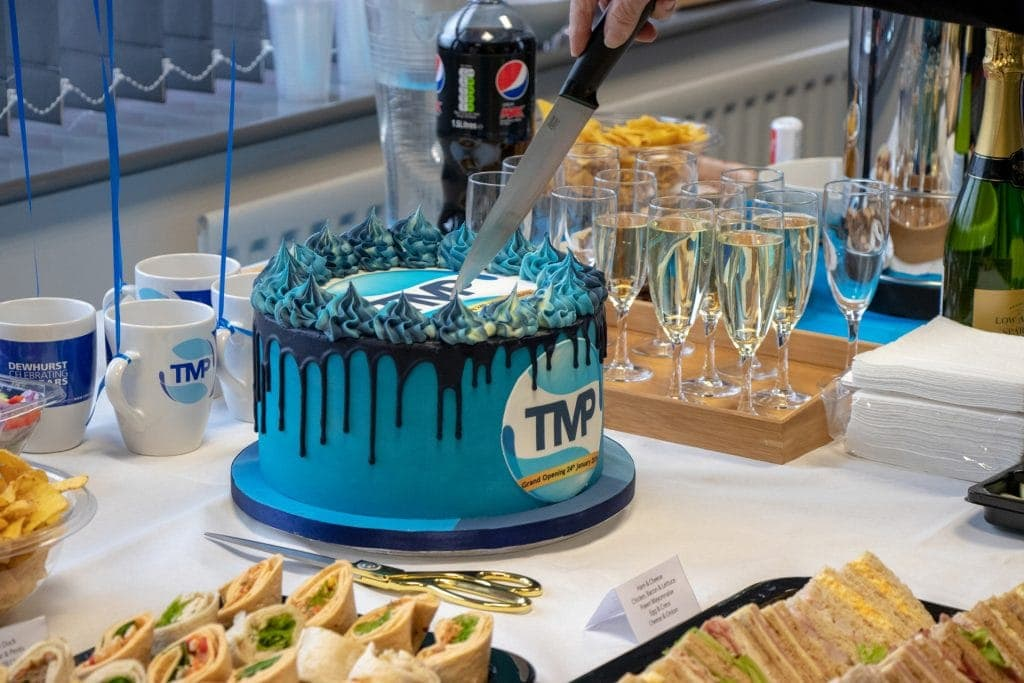 TMP Solutions Grand Opening cake