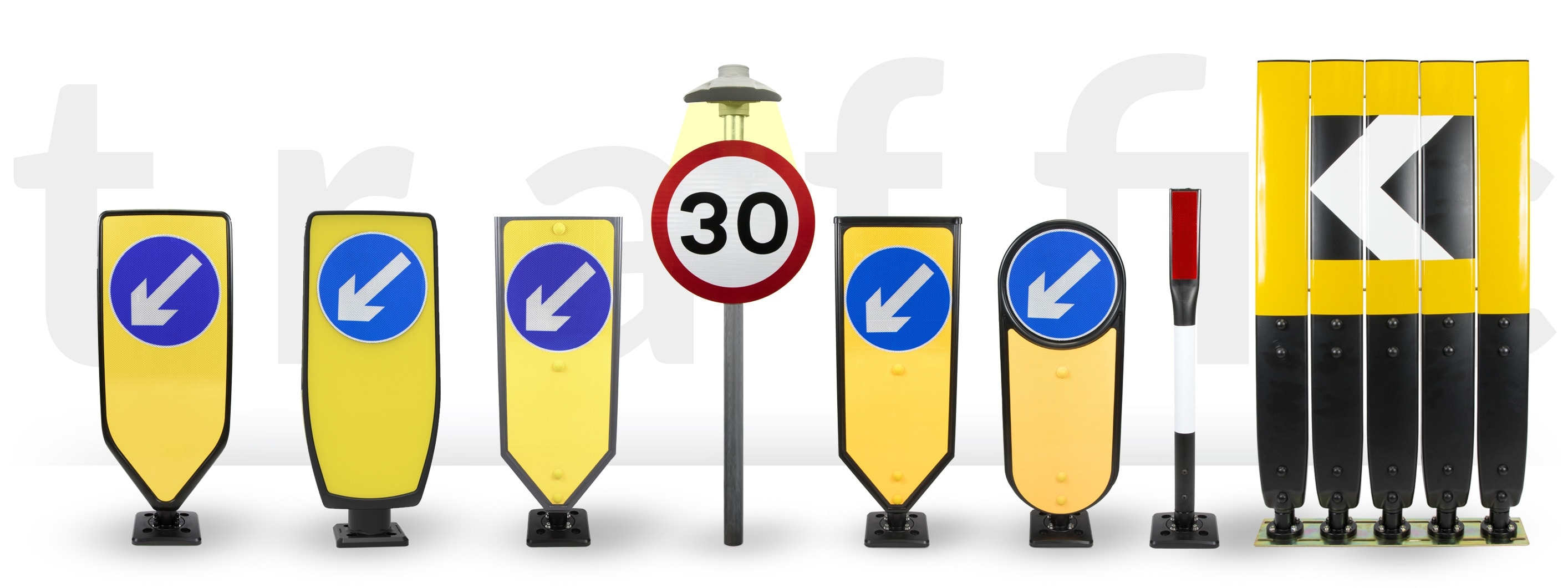 TMP range of traffic safety products