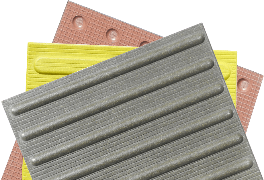 TMP range of TacTile Paving angle