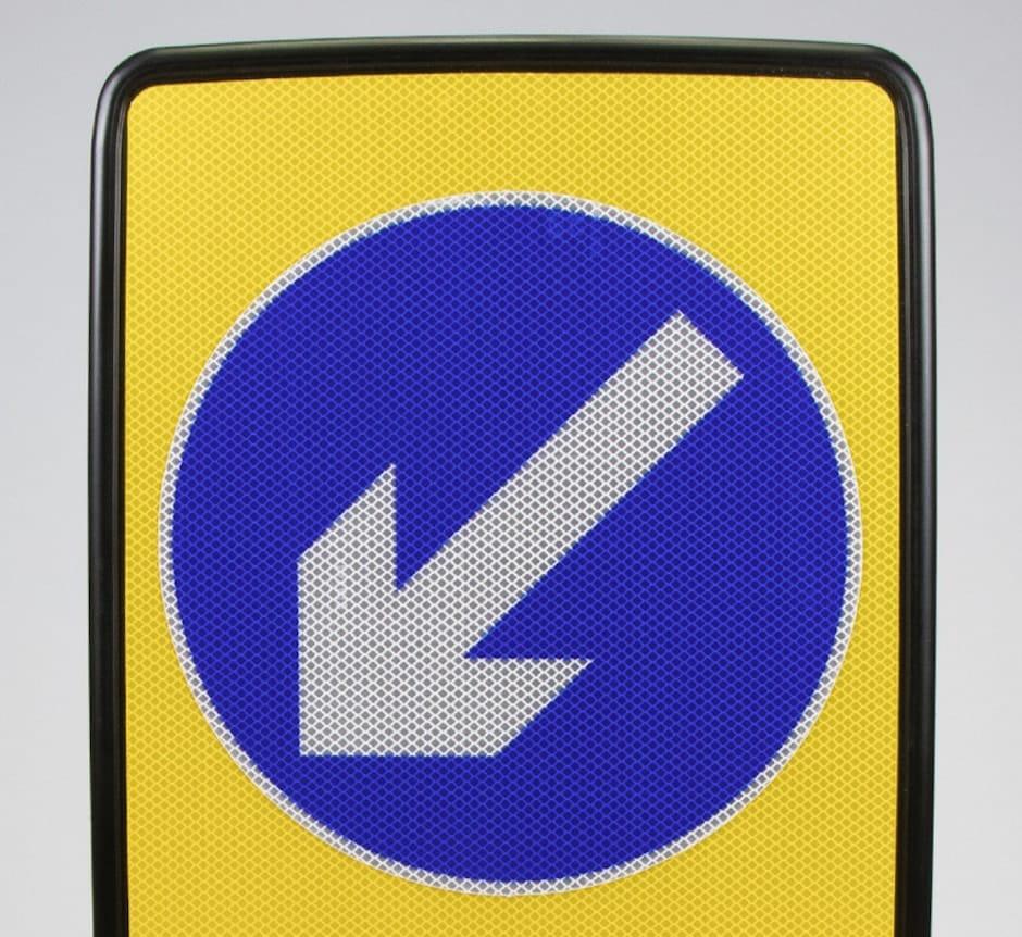 Keep Left EVO-N Bollard UK