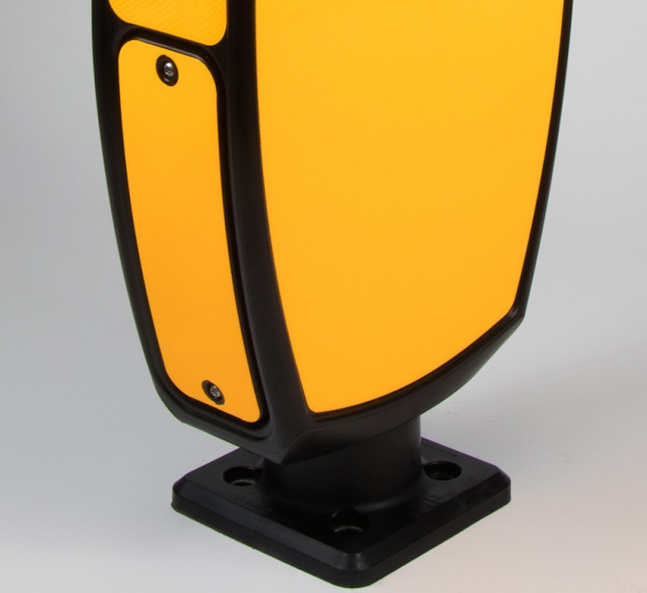 EVO-S illuminated traffic bollard Battery Door TMP Solutions