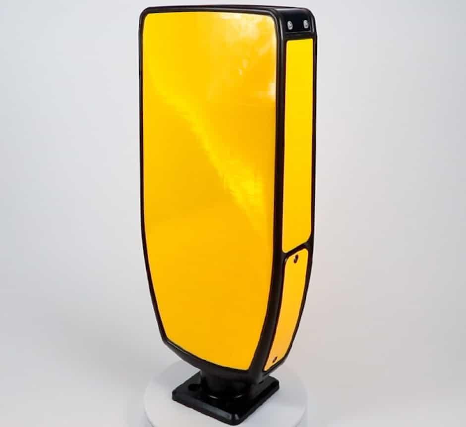 EVO-S illuminated traffic bollard Solar LED RSRB TMP Solutions