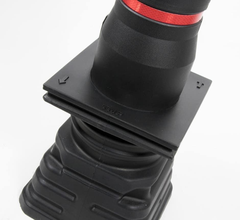 Compatible installation TMP bollards