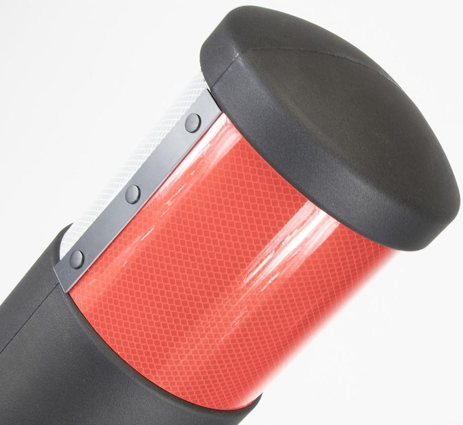 Orion traffic bollard 150mm reflective band