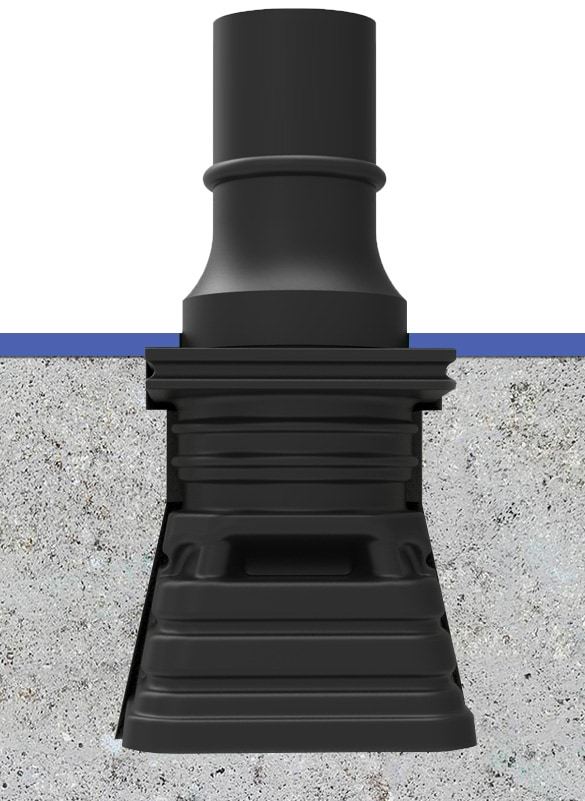 LockSafe socket street bollard by TMP Solutions