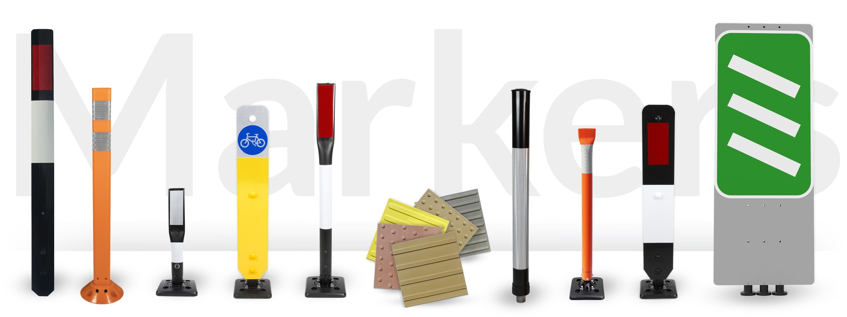 Hazard markers and marking posts from TMP Solutions