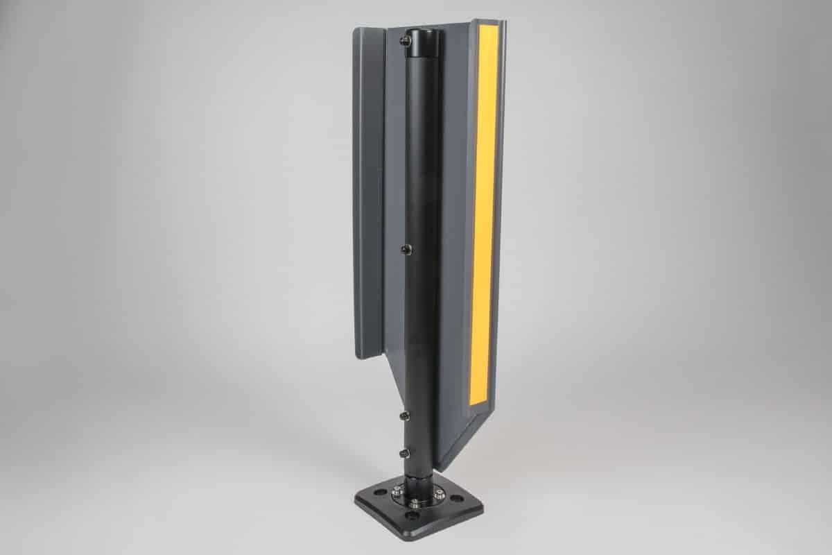 TMP Flecta RSRB Bollard Rear Angle