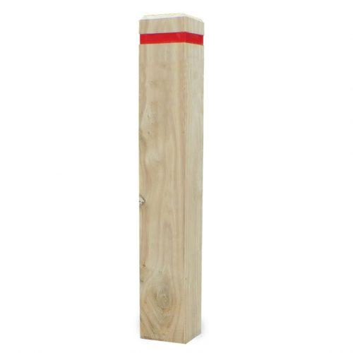 Bevel Top Timber Bollard